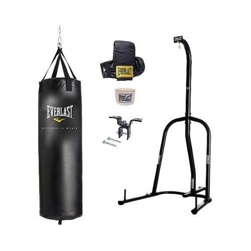 Everlast 70lbs Free Stand Single Unit Heavy Punch Bag For Teens