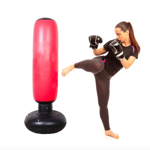 HomeYoo inflatable heavy bag for kids and girls