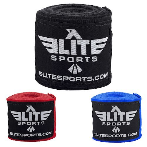Elite sports top hand wraps for boxing training.