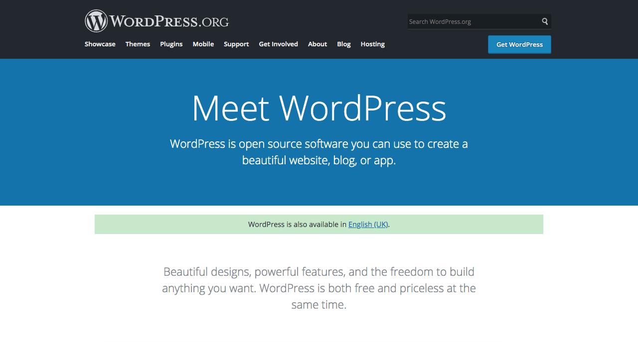 Self Hosted WordPress image.