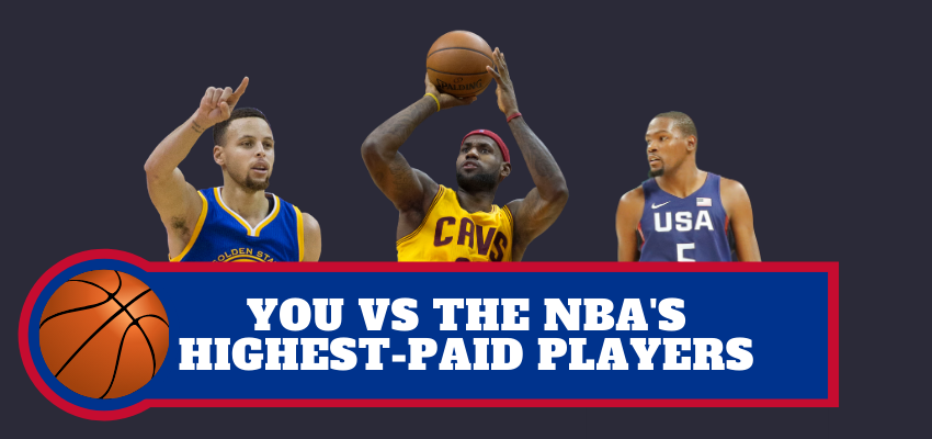 You VS The Highest-Paid NBA Stars