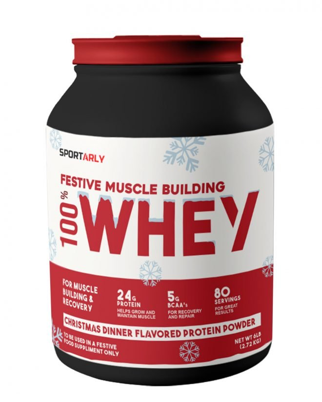 Christmas dinner flavoured protein powder.
