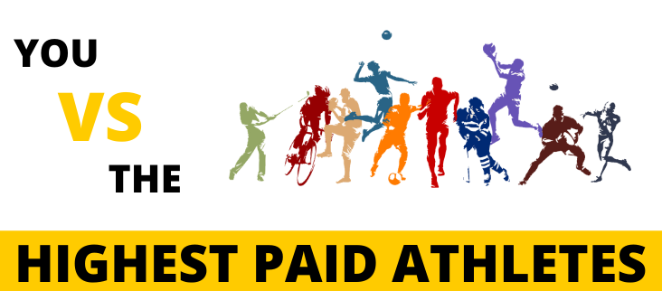 You VS The World's Highest Paid Athletes